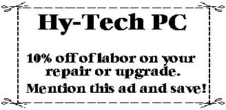 10% off labor on you upgrade.